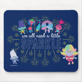 Trolls | The Snack Pack Sparkles Mouse Pad