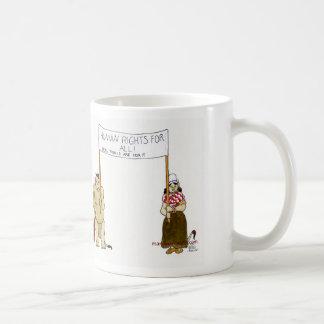 Trolls' traveled humane Rights Coffee Mug