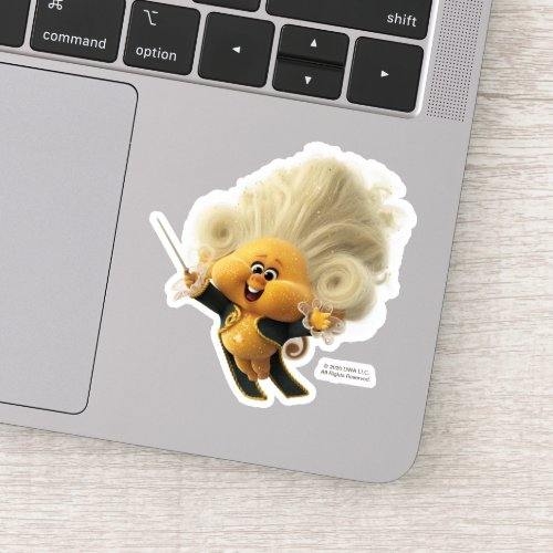 Trolls World Tour  Conductor Trollzart Sticker
