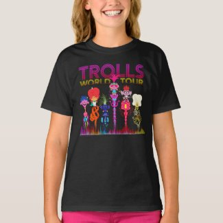 Trolls World Tour | Six String Leaders T-Shirt