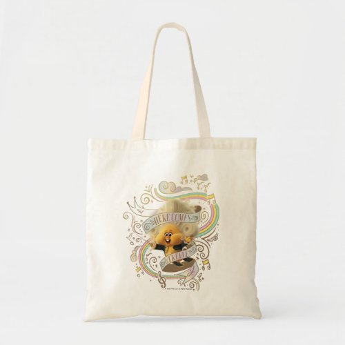 Trolls World Tour  Trollzart Here Comes Treble Tote Bag