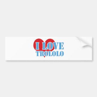 Trololo Bumper Sticker