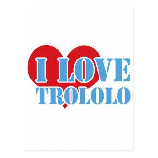 Trololo Postcard