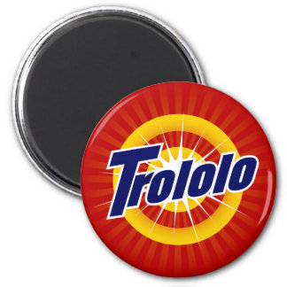 Trololo Round Magnet