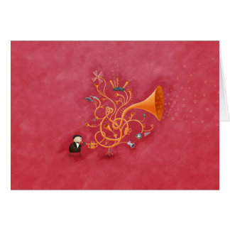 Trombombone Greeting Card