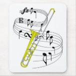Trombone Alfombrilla De Ratón