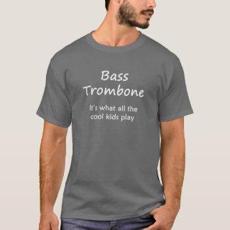 Trombone bajo. Es lo que juegan todos los niños Playera