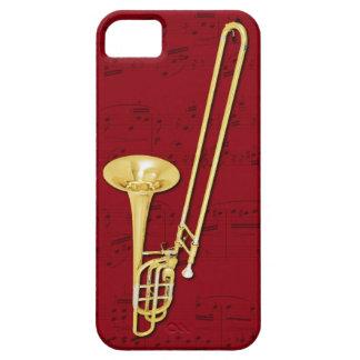 Trombone (bass) phone case. Pick color iPhone SE/5/5s Case