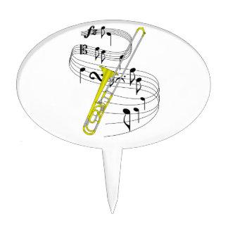 Trombone Cake Topper