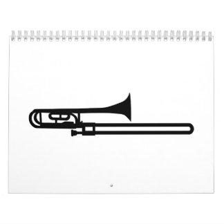 Trombone Calendar