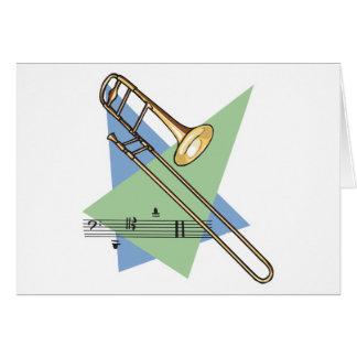 trombone card