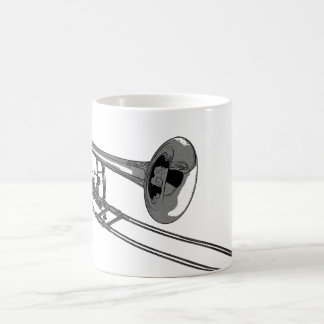 Trombone Classic White Coffee Mug