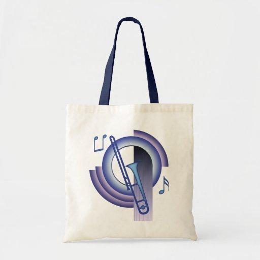 Trombone Deco2 Bolsa Tela Barata
