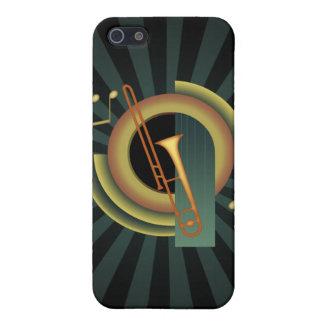 Trombone Deco iPhone SE/5/5s Cover