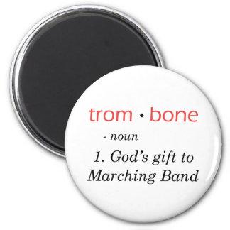 Trombone - Definition 2 Inch Round Magnet