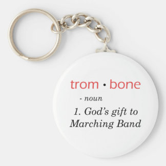 Trombone - Definition Keychain