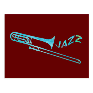 Trombone del jazz postal
