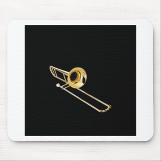 """Trombone"" design gifts and products Mouse Pad"