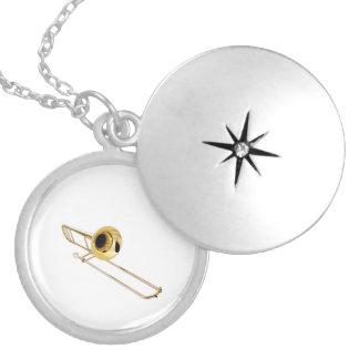 """Trombone"" design jewelry set"