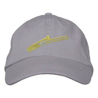 Trombone Embroidered Hat