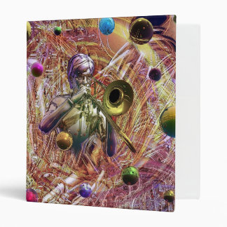 Trombone Fantasy 3 Ring Binder