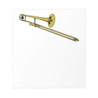 Trombone Gear Memo Notepad