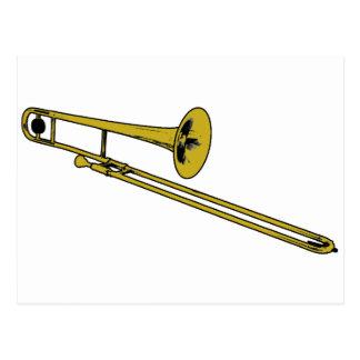 Trombone Gear Postcard