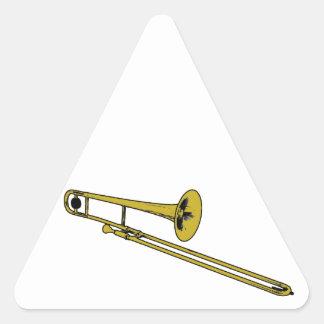 Trombone Gear Triangle Sticker
