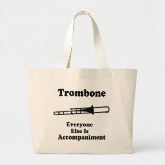 Trombone Gift Large Tote Bag