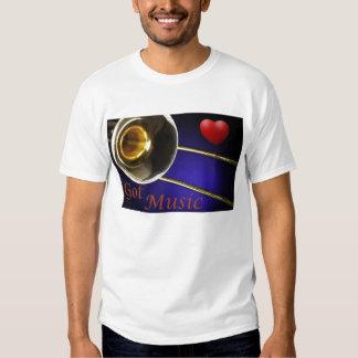 Trombone Got Music With A Heart Shirts