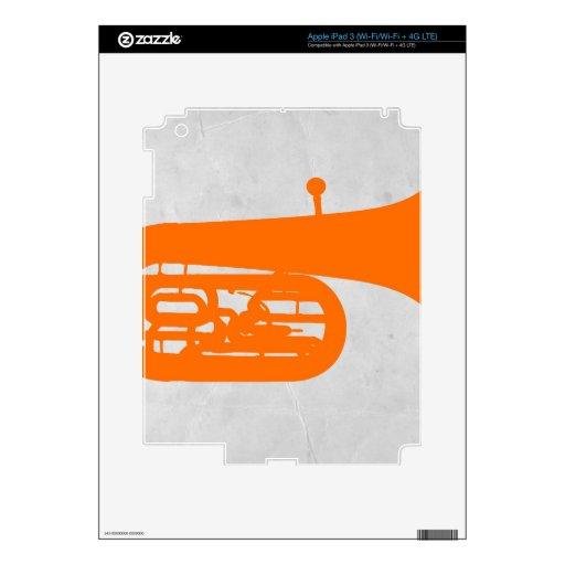 Trombone iPad 3 Decal