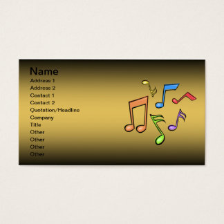 Trombone Lessons Business Card