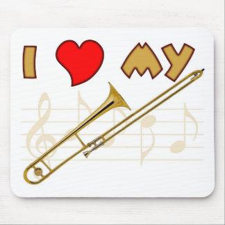 Trombone Love Mouse Pad