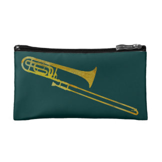 Trombone Makeup Bag