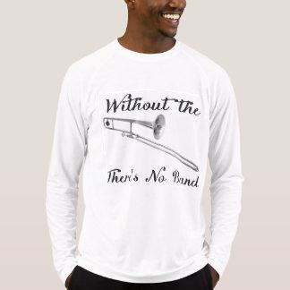 Trombone Men's Sport-Tek Fitted Performance Long S T-Shirt