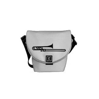 Trombone Messenger Bags