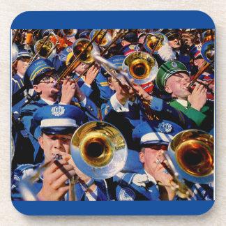 trombone mob AKA band geeks gone wild Beverage Coaster