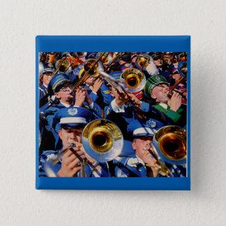 trombone mob AKA band geeks gone wild Button