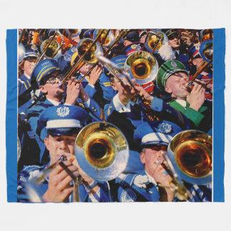 trombone mob AKA band geeks gone wild Fleece Blanket