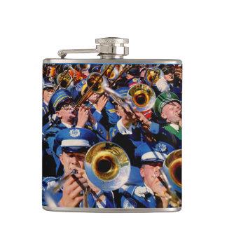 trombone mob AKA band geeks gone wild Hip Flask