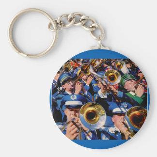 trombone mob AKA band geeks gone wild Keychain