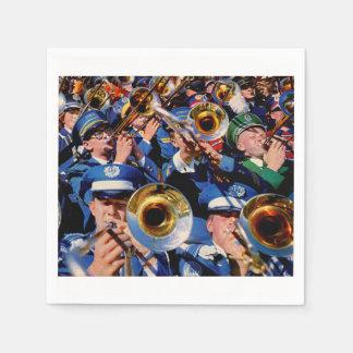 trombone mob AKA band geeks gone wild Paper Napkin