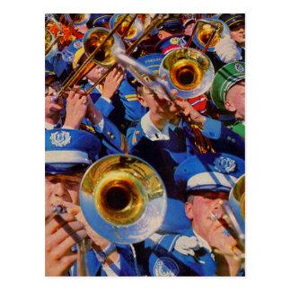 trombone mob AKA band geeks gone wild Postcard