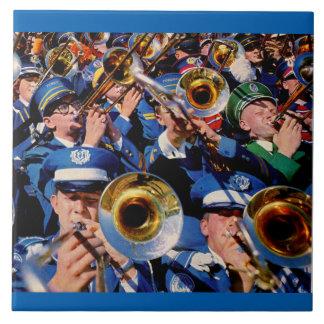 trombone mob AKA band geeks gone wild Tile