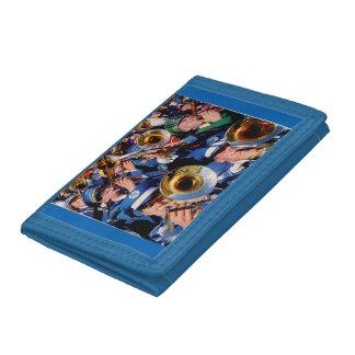 trombone mob AKA band geeks gone wild Tri-fold Wallets
