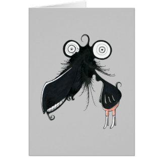 Trombone Monster Greeting Card