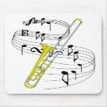 Trombone Mouse Mat
