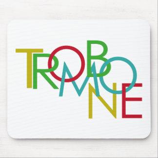 Trombone Mouse Pad