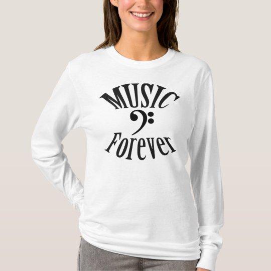 """Trombone """"Music  Forever"""" T Shirt"""