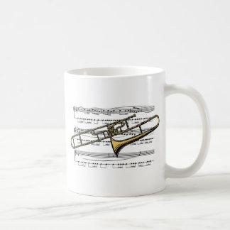 Trombone Musical 14 B Classic White Coffee Mug